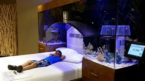 decorating ideas for master bedrooms great ideas of fish tank bed for your glamorous bedroom