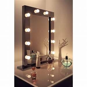 Miroir Lumineux Maquillage : miroir pour loge ou studio 7rental arras lille paris ~ Teatrodelosmanantiales.com Idées de Décoration