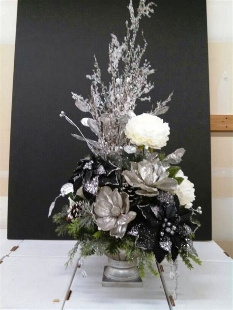 flower arrangement ideas  christmas inspired luv