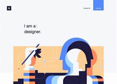 Portfolio Website Behance Designer Daniel Stylish Personal