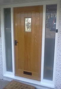 Exterior Wooden Doors With Glass Panels. Affordable ...