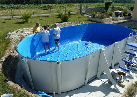 piscine hors sol acier enterree piscine acier enterr 233 e filtre piscine hors sol