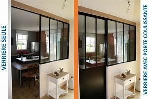 bernard olivier menuiserie cuisine verriere interieure With porte d entrée alu avec salle de bain aménagée pour handicapé