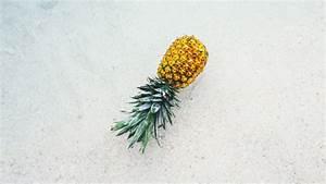 pineapple on during summer season 4k wallpapers hd