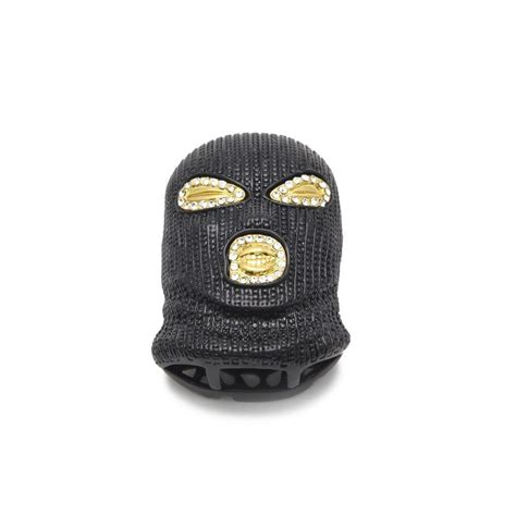 Can't find what you are looking for? Gold Finish Ski Mask Goon Gangsta Pendant with Cuban link ...