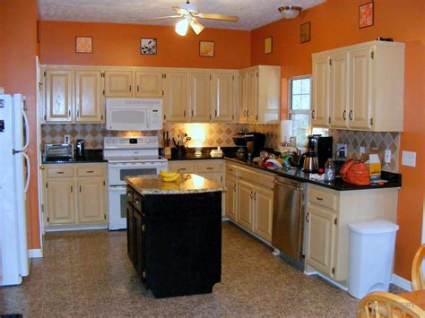 kitchen paint colors  white cabinets