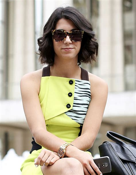 carre long ondule street style coiffure  coupes