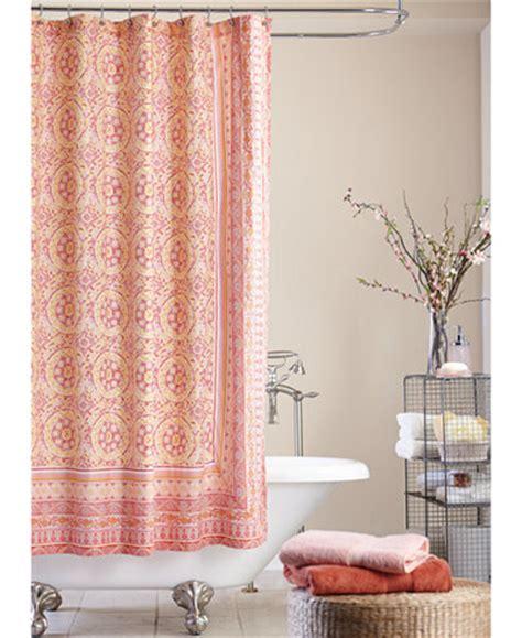 mosaic tile shower curtain shower