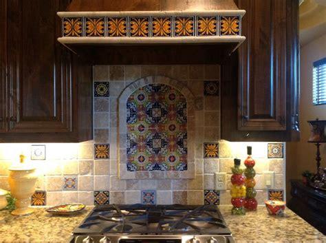 talavera backsplash mexican style kitchens spanish