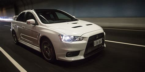 mitsubishi lancer evolution 2016 mitsubishi lancer evolution x review final edition