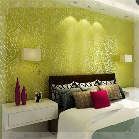curve   woven feature wall wallpapers  bedroom