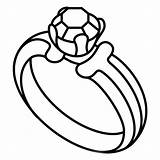 Ring Coloring Kerra Diamond sketch template