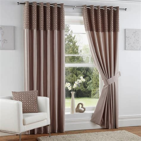 curtina woburn chenille faux silk eyelet lined curtains ebay