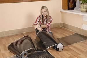 Elektrische Fußbodenheizung Teppich : infrarot heizfolie f r elektrische fu bodenheizung ~ Jslefanu.com Haus und Dekorationen