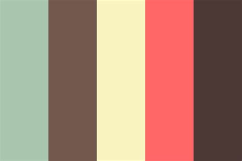vintage color vintage doo color palette