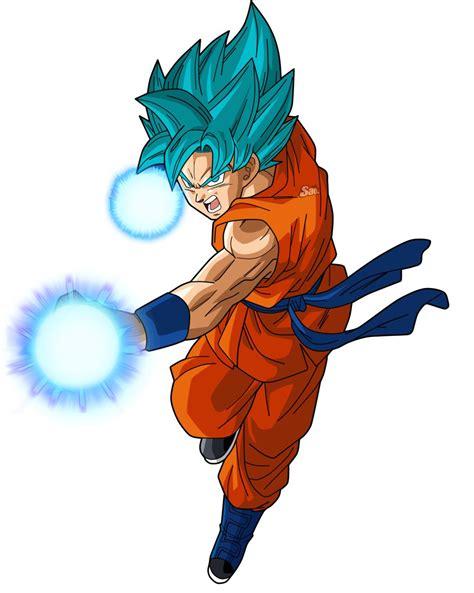 Goku Power 2 by SaoDVD on DeviantArt Dragon ball super