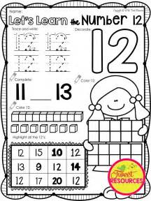 number 12 worksheets 17 best images about kindergarten math worksheets pinterest math pages activities and