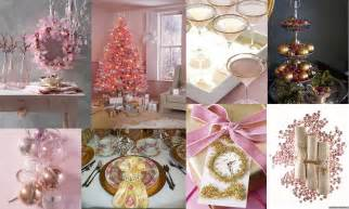metro luxe events candice vallone pink gold christmas inspirations