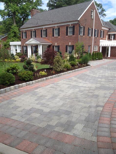 driveway layout design nj archives decarlo landcape contractors