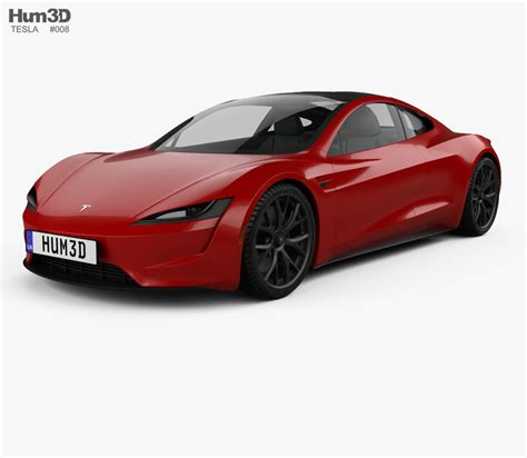 2020 Tesla Roadster by Tesla Roadster 2020 3d Model Vehicles On Hum3d