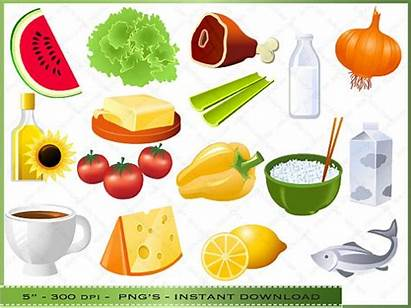 Healthy Clipart Foods Chart Health Clip Items