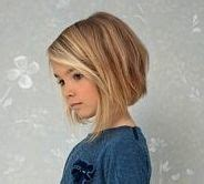 girl haircut bob   kids