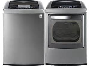 LG Top Load Washer and Dryer