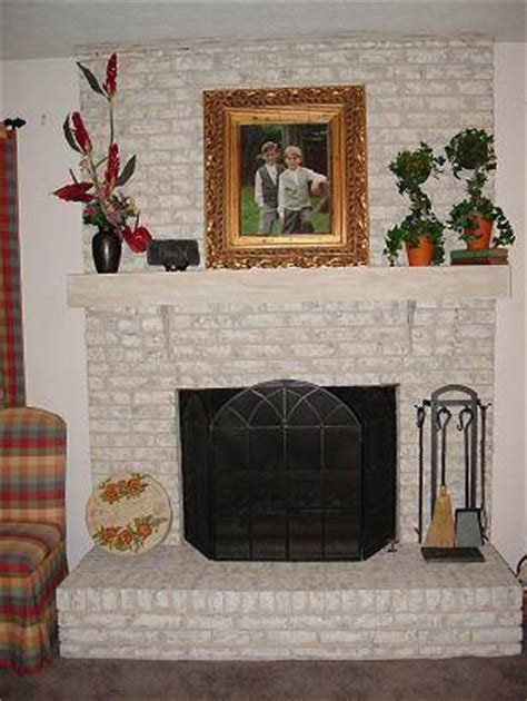 brick anew fireplace paint