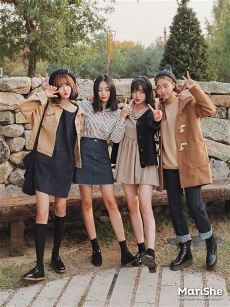 friendship goal outfit ideas based  korean style celebrity fashion outfit trends  beauty