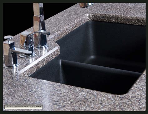 quartz countertop with undermount sink kitchen design elegant composite granite sinks for
