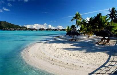Pantai Pemandangan Gambar Sand Alam Paradise Tropical