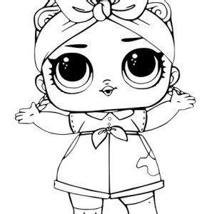 dibujos  colorear munecas lol   lol dolls lol printable coloring pages
