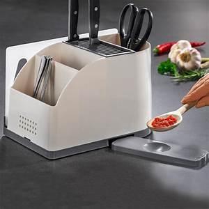 Rangement Ustensile Cuisine : acheter rangement pour ustensiles de cuisine en ligne ~ Melissatoandfro.com Idées de Décoration
