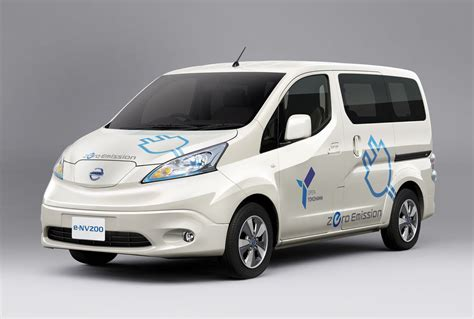 nissan nv200 nissan e nv200 to quot eventually quot be sold worldwide inside evs