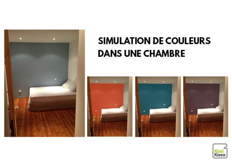 simulation peinture chambre decoration interieur peinture simulation