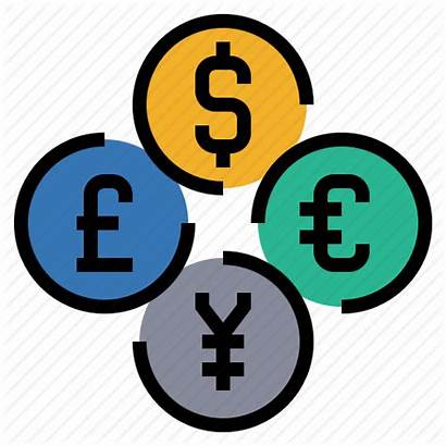 Foreign Icon Money Currency Exchange Cash Banking