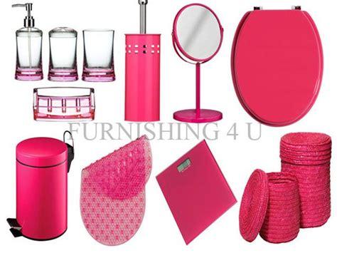 fuschia kitchen accessories fuschia pink bathroom accessories bathroom interior home 1143