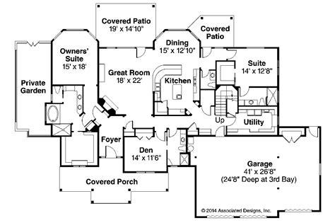 craftsman floor plans one craftsman floor plans studio design