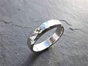 mens ring silver mens wedding band men engagement ring With mens wedding ring silver