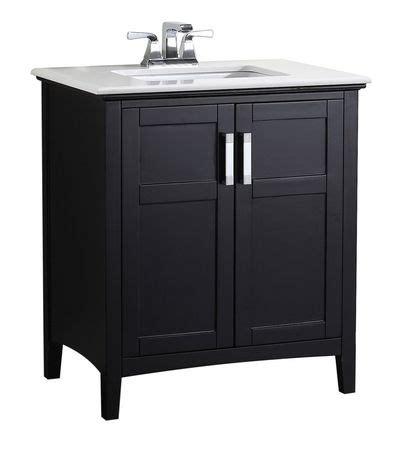 walmart bathroom vanity canada wyndenhall salem 30 quot bath vanity with quartz marble top