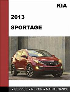 Kia Sportage 2013 Oem Factory Service Repair Workshop