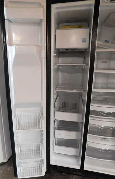 cu ft ge monogram stainless steel side  side refrigerator   appliance recycler