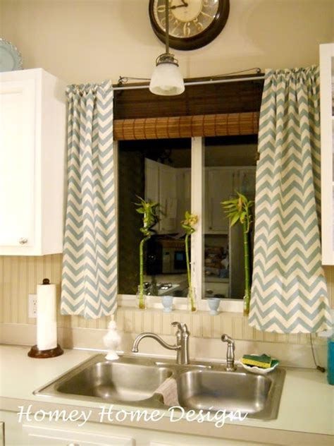 homey home design simple chevron curtains with fabric