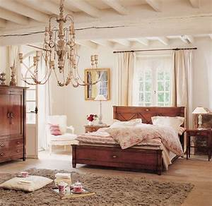 Country living shabby chic bedroom beautiful modern for Country chic bedrooms