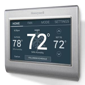 honeywell smart wi fi  day programmable color touch