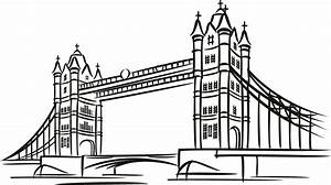 tower bridge london around the world wall art decal wall With lcr bridge ebay