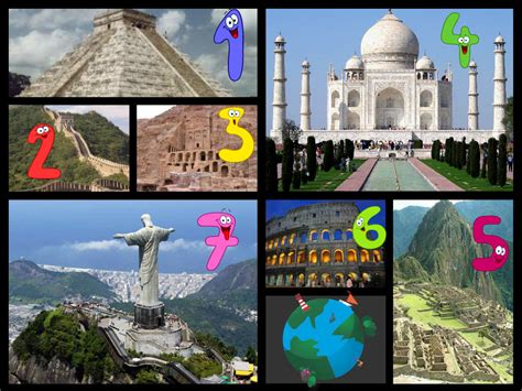 pics for gt 7 wonders of the ancient world collage