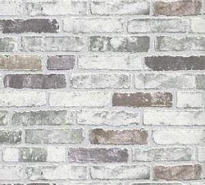 white grey brick wallpaper for the kitchen backsplash With kitchen colors with white cabinets with papier peint intissé xxl