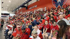 Capitals fans jam practice rink for send-off before ...