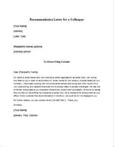 re mendation letter for nurse colleague